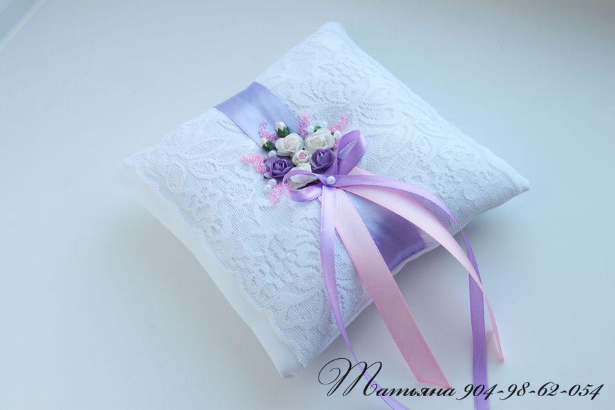 Фото 970513 в коллекции Подушечки для колец - Свадебные аксессуары от WeddingDecor