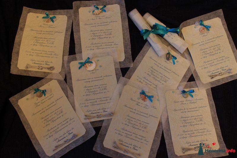 Приглашение на свадьбу в морском стиле. - фото 124065 Timeofwedding