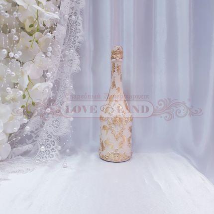 Декор свадебных бутылок - артикул 24