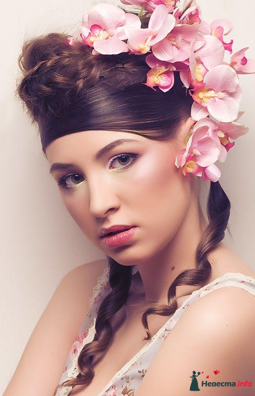 Фото 108039 в коллекции Мои фотографии - Хабарова Марина - прическа и макияж на свадьбу
