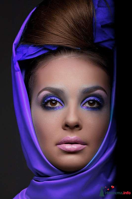 Фото 109986 в коллекции Мои яркие макияжи - Хабарова Марина - прическа и макияж на свадьбу