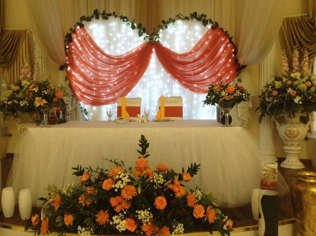 Арка в форме сердца для свадебных церемоний-оформление президиума, выездная регистрация. - фото 1424811 Шарм - оформление шарами и тканями