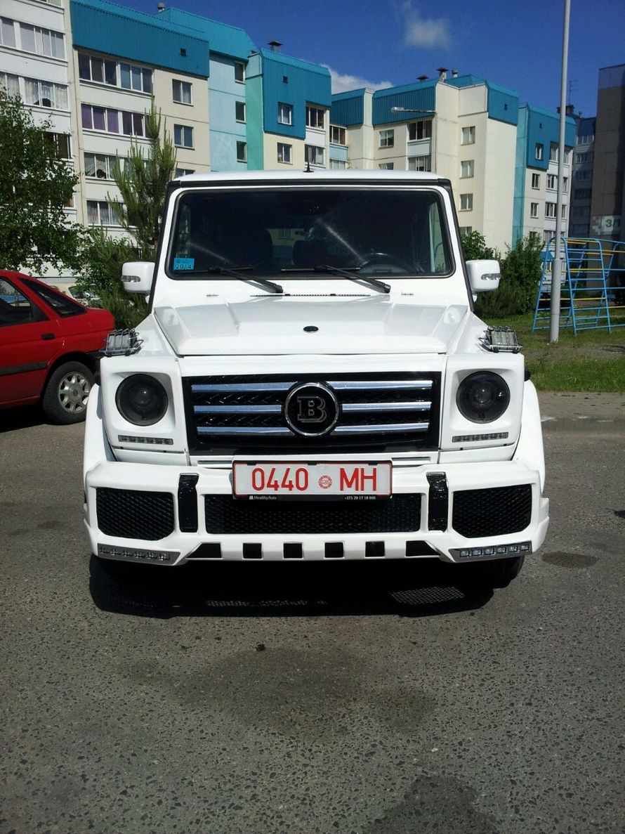 прокат мерседес гелендваген на свадьбу минск - фото 7899932 Компания AvtoLimo - аренда авто