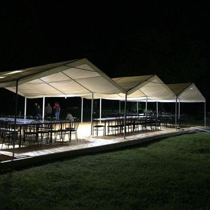 Аренда шатра, стоимость за 1 сутки