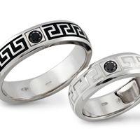 Обручальные кольца МЕАНДР VIP