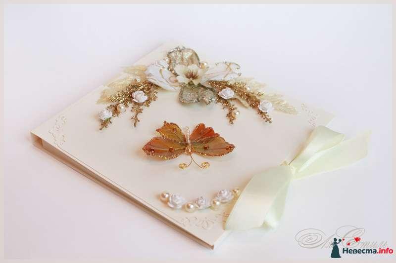 """Книга пожеланий """"Золото"""" - фото 109894 Ля Стиль - цветы и подарки"""