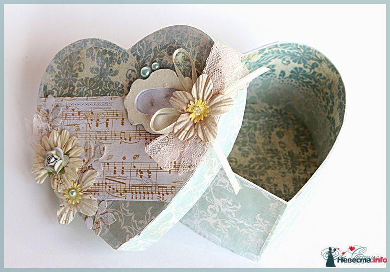"""Коробочка """"Сердце"""" - фото 109913 Ля Стиль - цветы и подарки"""