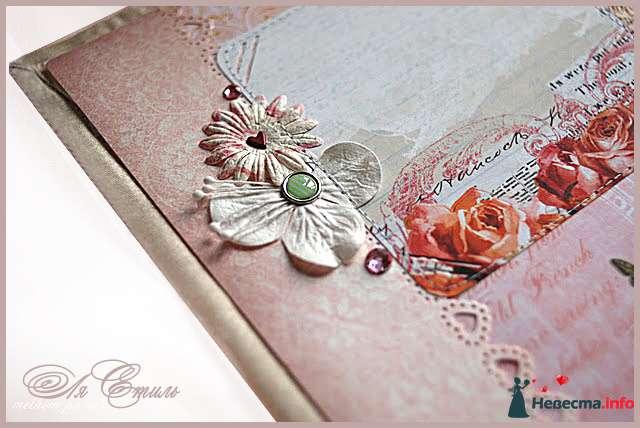 """Свадебный фотоальбом """"ПЕРАМУТРОВЫЙ"""" - фото 109924 Ля Стиль - цветы и подарки"""