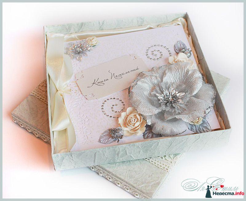 """Книга пожеланий """"СЕРЕБРО"""" - фото 109926 Ля Стиль - цветы и подарки"""