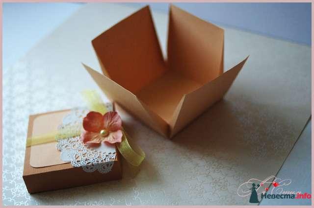 """Бонбоньерка """"Карамельная"""" - фото 110138 Ля Стиль - цветы и подарки"""