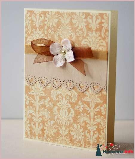 """Приглашение """"Шоколадная роскошь"""" - фото 111560 Ля Стиль - цветы и подарки"""