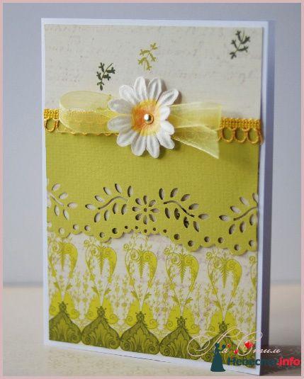 """Приглашение """"Весеннее"""" - фото 111563 Ля Стиль - цветы и подарки"""