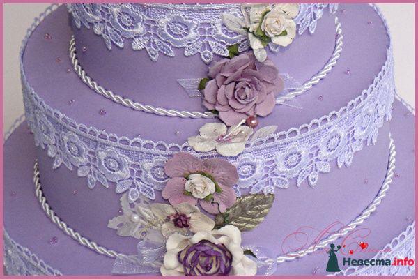 """Казна для денег - Торт """"Лавандовый букет невесты"""" - фото 129744 Ля Стиль - цветы и подарки"""
