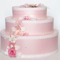 Торт – сундучок для денег будет прекрасным аксессуаром для самого важного дня в жизни. - 1890 руб.