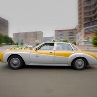свадебный автомобиль. свадебная фотоссесия.