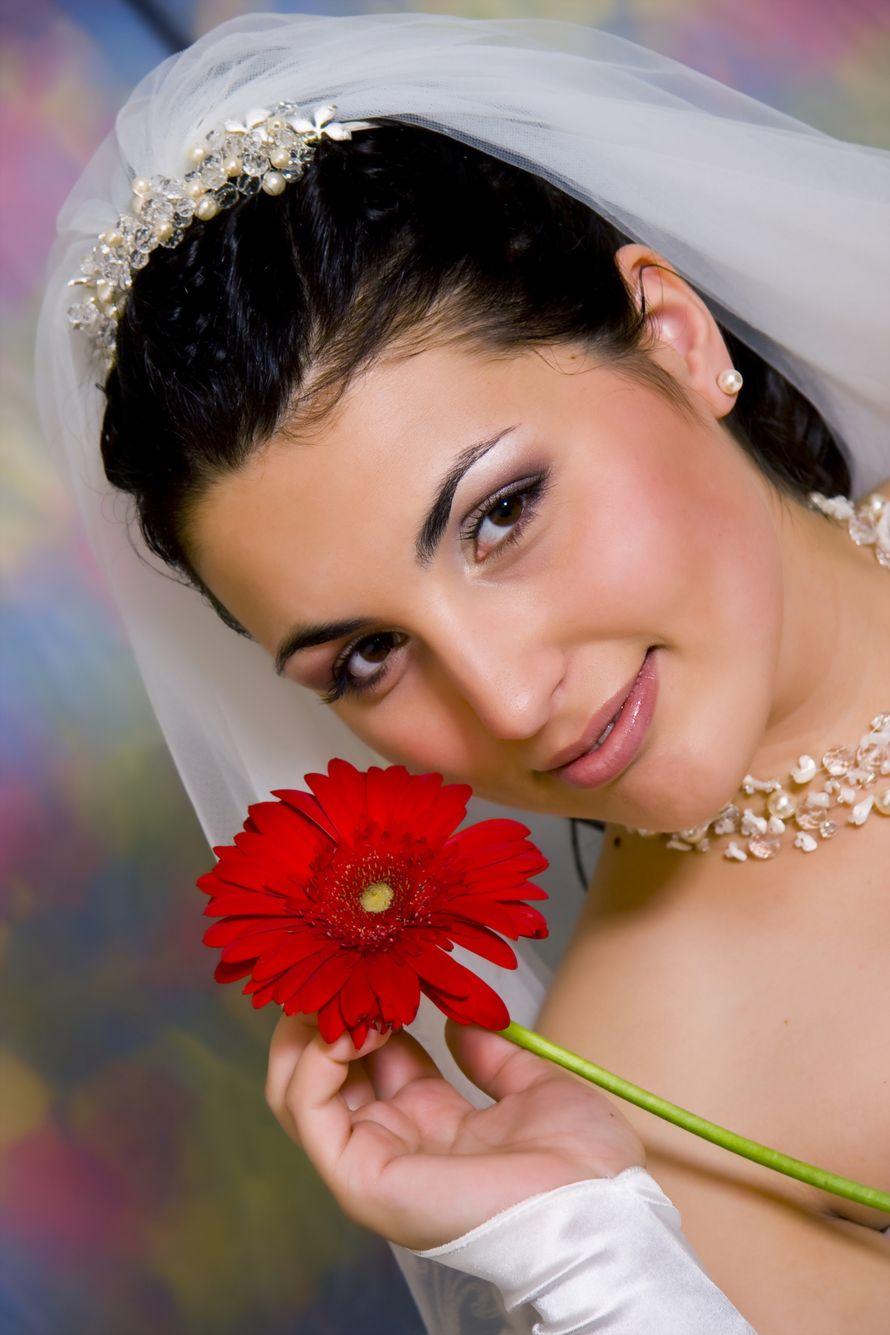 Фото 1140275 в коллекции Свадебные прически - Салон красоты Мэйли