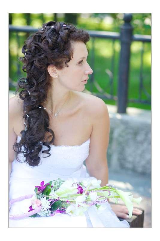 Фото 1140281 в коллекции Свадебные прически - Салон красоты Мэйли