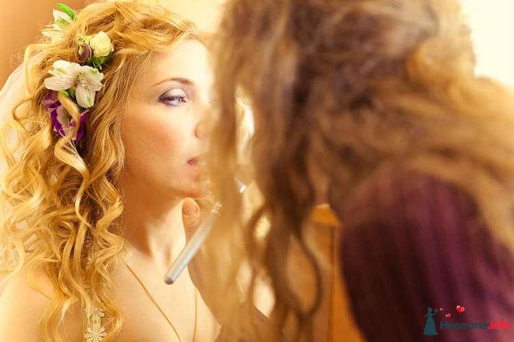 """я за работой-свадьба Натальи; фото: Е.Зотова - фото 116845 Студия Марии Рублевой """"Стиль и красота"""""""