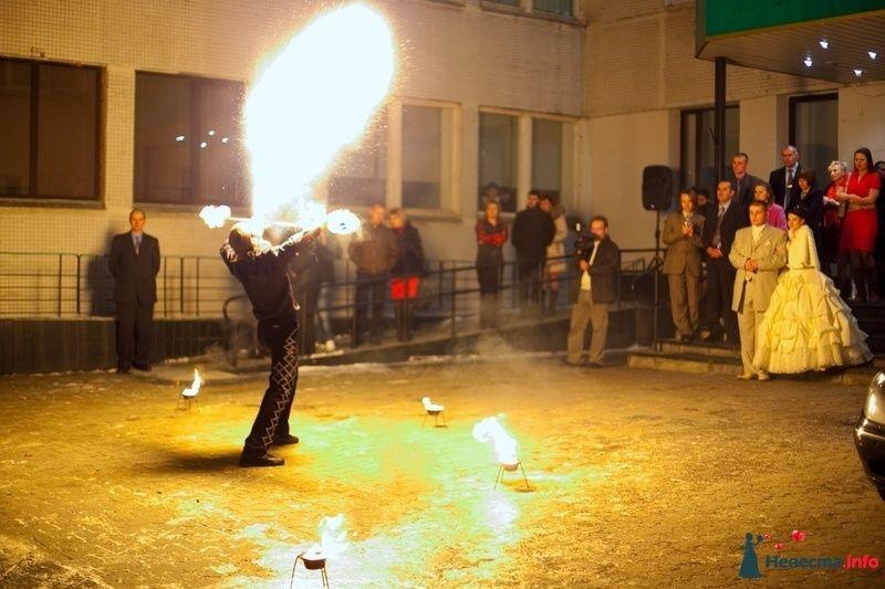 Свадебное огненное шоу - фото 124378 Световое и огненное шоу - Extravaganza show