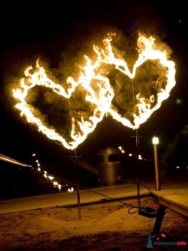 Огненные сердца - фото 126099 Световое и огненное шоу - Extravaganza show