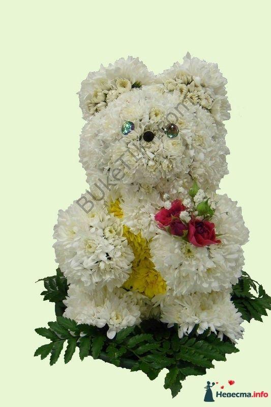 """Мишка - фото 112291 """"Цветочный бутик"""" - студия флористов"""