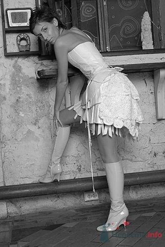 Фото 13561 в коллекции Короткое свадебное платье Алены - Свадебная мастерская ОП-позиция