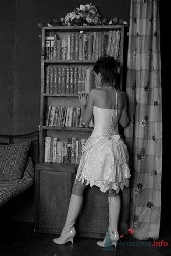 Фото 13563 в коллекции Короткое свадебное платье Алены - Свадебная мастерская ОП-позиция
