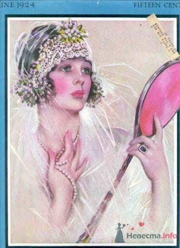 Фото 14104 в коллекции Винтажные платья - Свадебная мастерская ОП-позиция