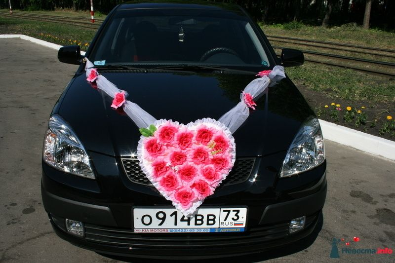 """Фото 116337 в коллекции Украшения на автомобили. - Свадебное агентство """"Мечта"""""""