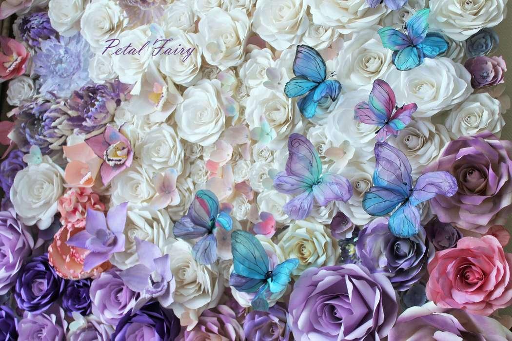 Фон из цветов на свадьбу своими руками 84