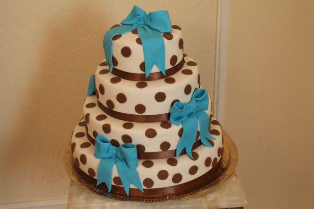 Фото 1134751 в коллекции торты - Иннэсса - свадебные торты из мастики