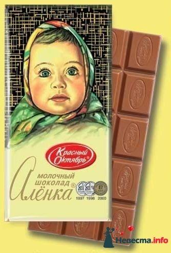 Открытка аленка шоколадка, красивые