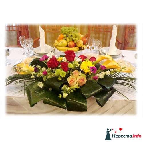 Оформление свадебного стола 4 - фото 119162 Невеста01