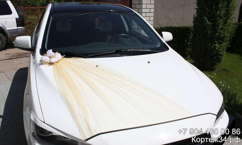 Фото 1142059 в коллекции Украшения на машины ручной работы - Свадебный кортеж 34Ф