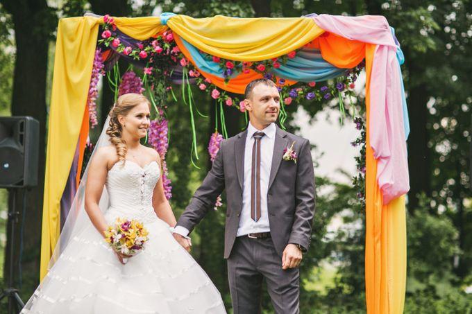 Жених и невеста - тили - тили тесто