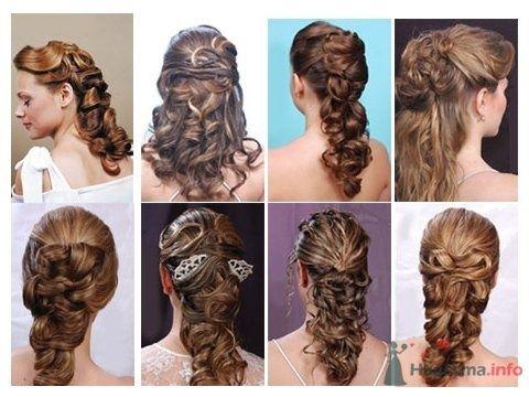 """Несколько фотографий свадебной прически на длинные волосы - фото 24786 Студия свадебной моды """"Артрина"""""""