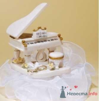 """Свадебные фигурки на торт - фото 10574 """"Бар-О-Белл"""" - кондитерские изделия"""