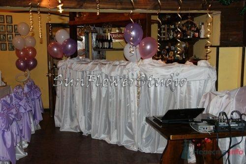 Фото 10616 в коллекции Свадьба в сиреневых тонах. - SunFlowerStudio - стильное оформление торжеств