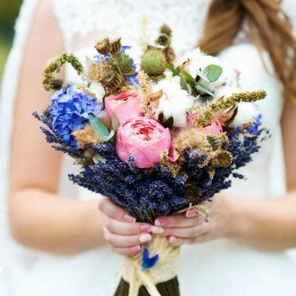 Букет невесты из голландских цветов