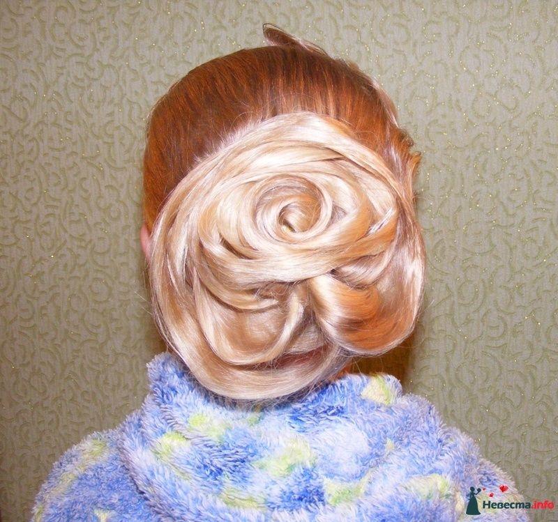 роза из волос - фото 124736 Свадебный стилист Марина Комарова