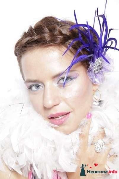 причёска, аксессуар из перьев - я - фото 124746 Свадебный стилист Марина Комарова