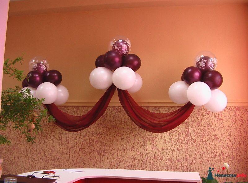 """Фото 123686 в коллекции Оформление  воздушными шарами - Агентство """"Баттерфляй"""" оформление"""