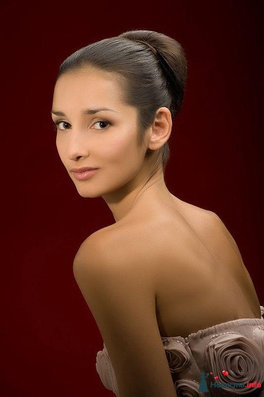Фото 123761 в коллекции Невесты. Прическа и макияж. - Свадебный стилист - Кулагина Марина