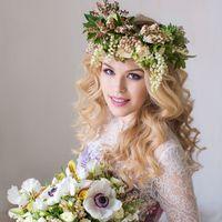 букет и венок для невесты