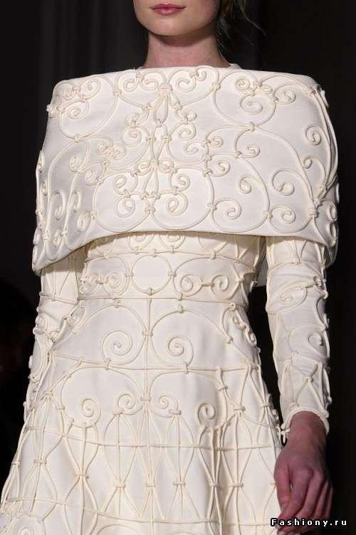 """Фото 1202957 в коллекции Примеры отделки переда - Свадебное ателье """"Оттенки белого"""""""