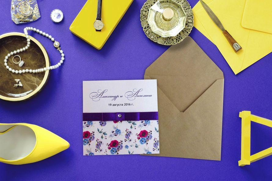 Свадебное приглашение Арт. 0043