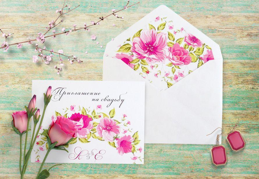 Свадебное приглашение, арт. 0051, цена за 1 шт