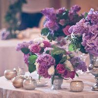 Сиреневая свадьба.