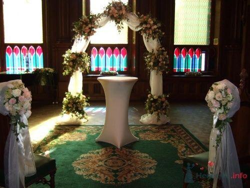 Цветочные арки для выездной церемонии - фото 12292 Arlecchino - cвадебное агентство
