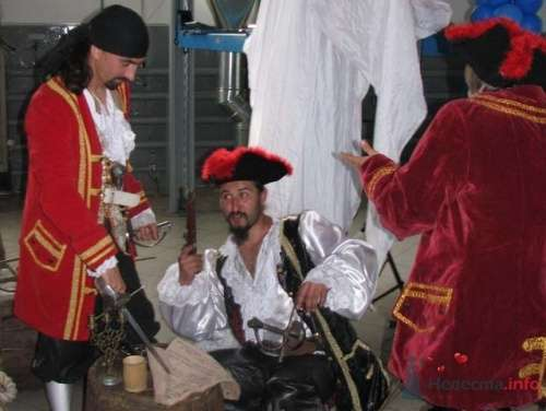 Пиратское шоу на свадьбу - фото 11105 198220